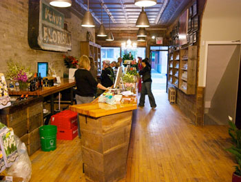 Sweetpea's flower and gift shop is also event versatile