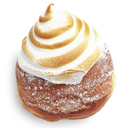 Glory Hole Doughnut's lemon meringue