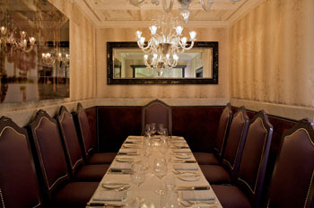 Harbour Sixty Steakhouse offers several grand private dining rooms