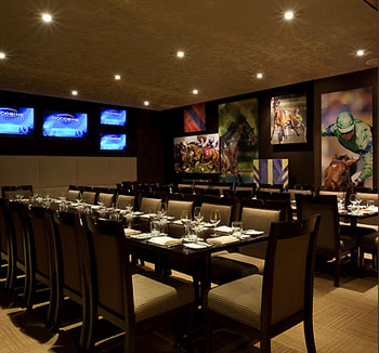 The Exchange Room at Turf Lounge is ideal for private events