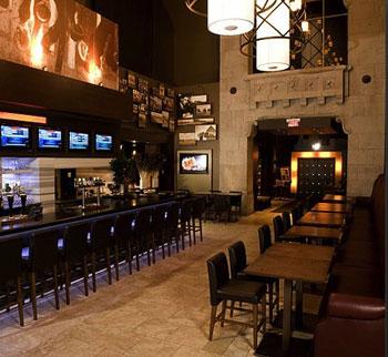 Turf Lounge's Main Bar is a popular Bay Street gathering spot