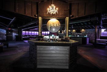 Pure Patio Club is part of Aria Entertainment Complex