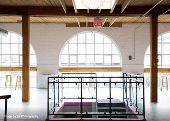 Twist Gallery offers a loft-style setting. Photo credit LN Photography