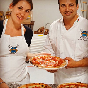It's pie time at the School of Italian Pizza
