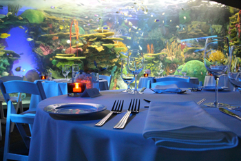 Surround the party with underwater beauty at Ripley's Aquarium of Canada
