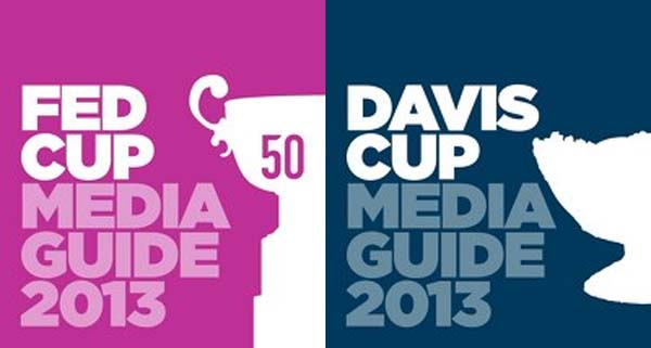 Digital versions of Fed Cup & Davis Cup Media Guides released by ITF