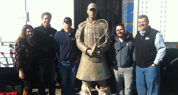 Andy Roddick Foundation - Terra Cotta warrior