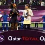 victoria azarenka wins the Qatar Total Open, gets serenaded by boyfriend