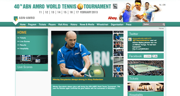 ABN AMRO World Tennis Tournament 2013 - Rotterdam
