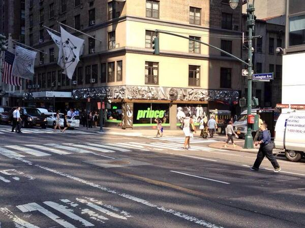 Prince Tennis opens a storefront in NYC