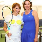 """Real Housewives of New York City"" LuAnn de Lesseps and Jill Zarin vied for a spot at the US Open"