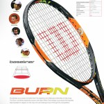 Wilson launches power-packed, sleek burn racket