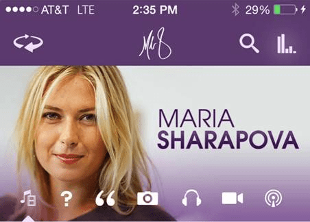Maria Sharapova App