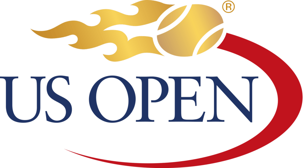 The US Open logo