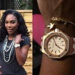 Serena Williams wears Marion Bartoli jewelry