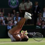 jelena jankovic beats title defender Petra Kvitova for a spot in the 4th round of Wimbledon