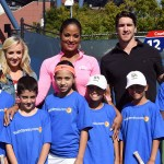 USTA youth tennis day