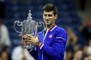 Novak Djokovic wins the 2015 US Open