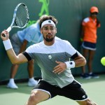 Fabio Fognini wears Hydrogen at the Miami Open