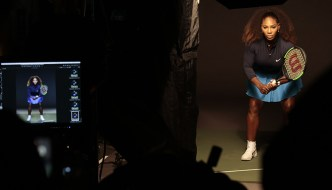 serena williams and sheldon cooper want to upgrade your game with intel