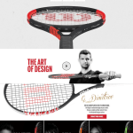 Wilson introduces custom tennis racket platform