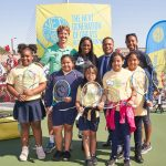 Sloane Stephens' Foundation hosts Net Generation Day
