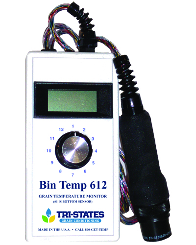 Bin 612 grain temp monitor