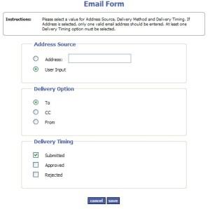 Email Module Admin