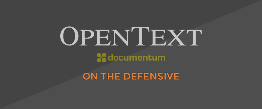 DCTM-OpenText-DEFENSIVE