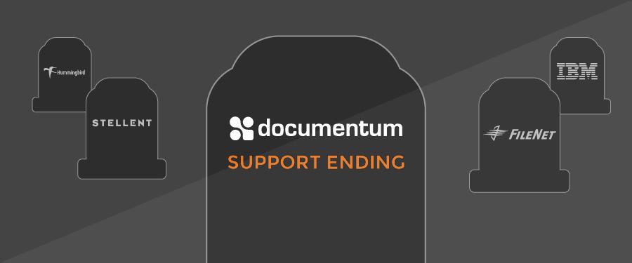 Documentum Support Ending in 2018