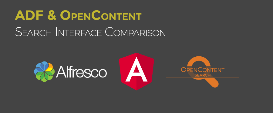 Alfresco ADF & OpenContent Search