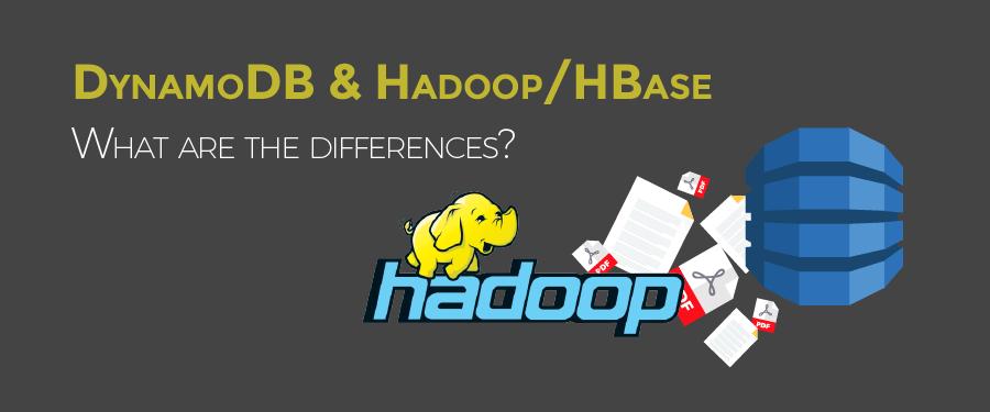 AWS DynamoDB vs Hadoop