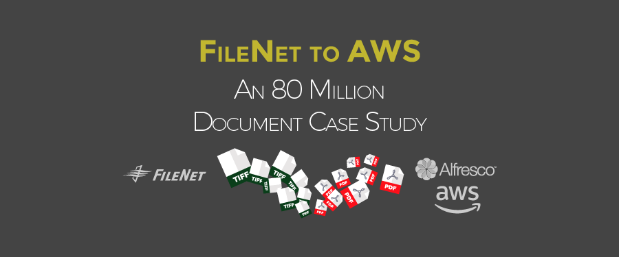 80 Million FileNet Migration