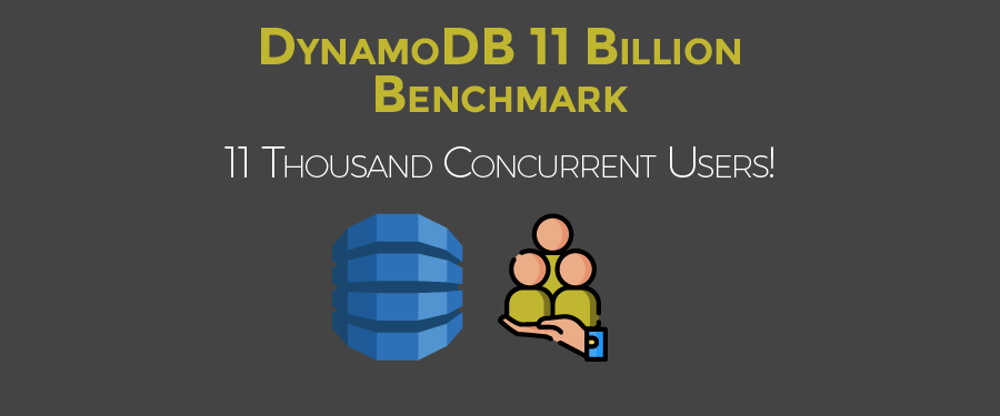 DynamoDB 11 Billion Benchmark - Concurrent Users