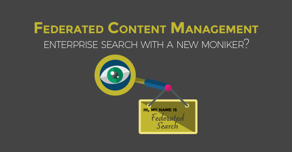 Federated Content Management