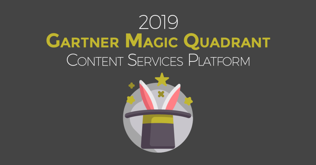 Gartner 2019 Magic Quadrant