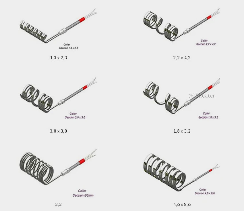 China Custom Industrial Heater Coils Manufacturers