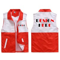 custom vests, design volunteers vests with your own logo ...