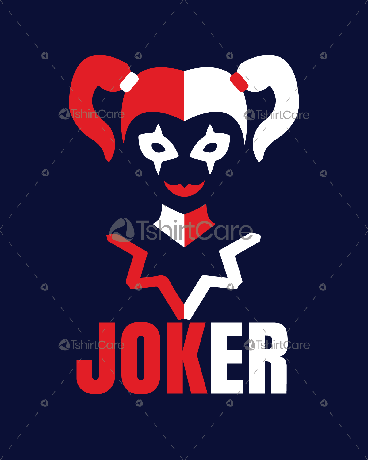 His Harley Quinn Suicide squad Joker T Shirt Design for cool ... c30aacc3b