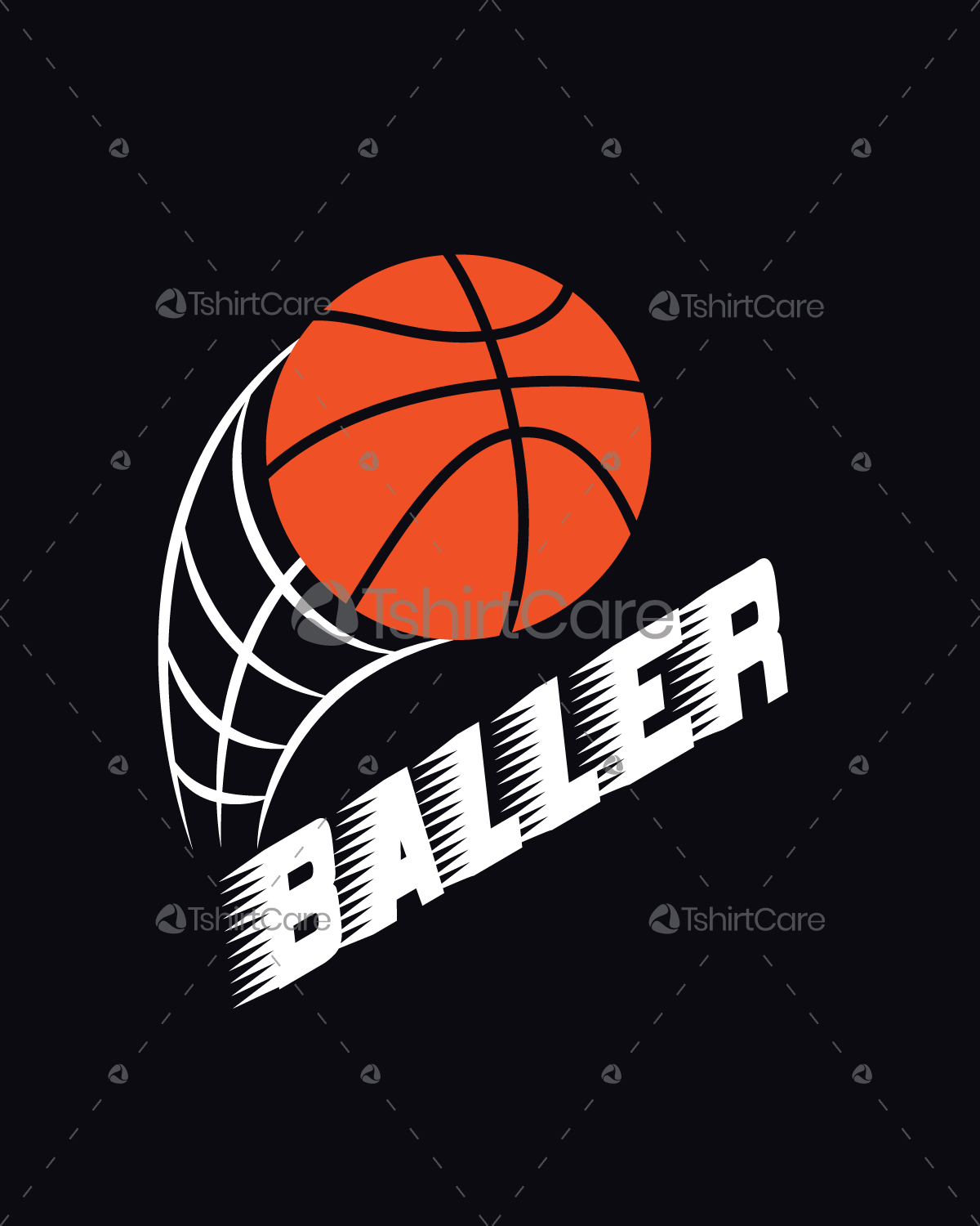 Basketball Tee Shirt Designs | Baller T Shirt Design Basketball Shirt Design For Sports Men S