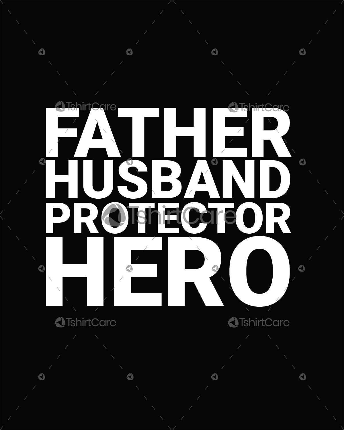 47d557218 Father husband protector hero T shirt Design Father day T-shirt for ...