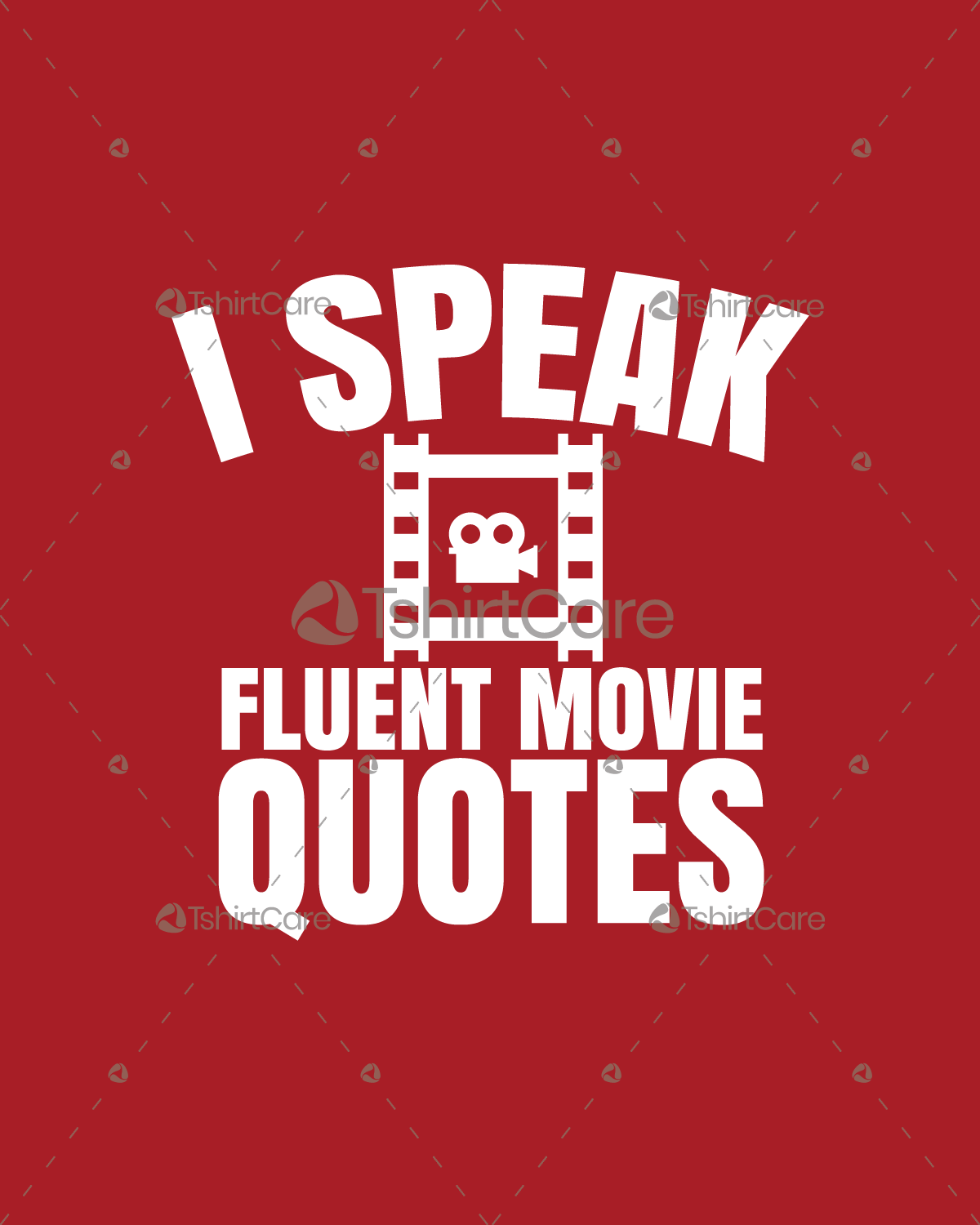 I speak fluent movie quotes T shirt Design Funny Movie Lovers Adult Men's &  Women's Tee Shirts - TshirtCare