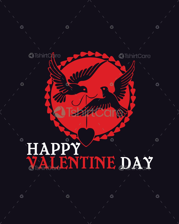 Happy Valentine's Day Love T shirt Design for Gift