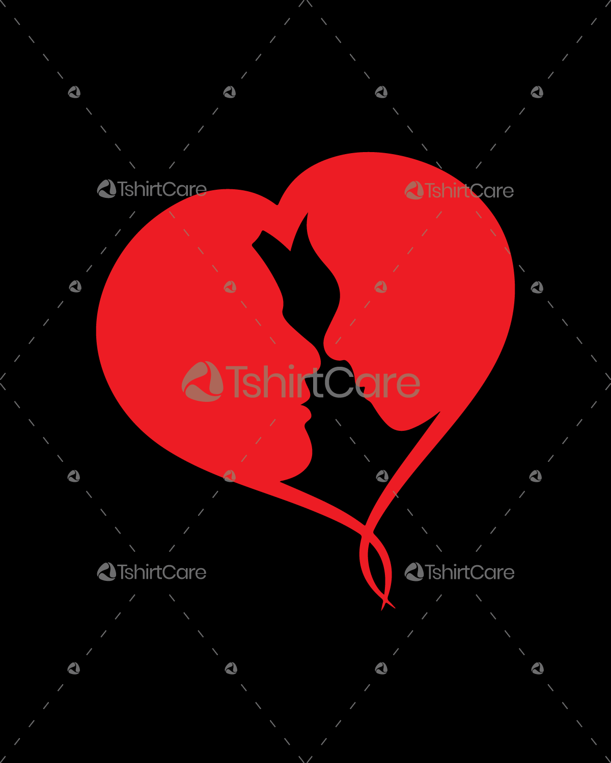 Holiday Valentines Day Tee Shirt Design For Couple Tshirtcare