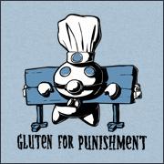 Gluten for punishement pillsbury dough boy spoof parody shirts