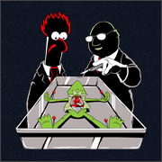 The frog / kermit dissection