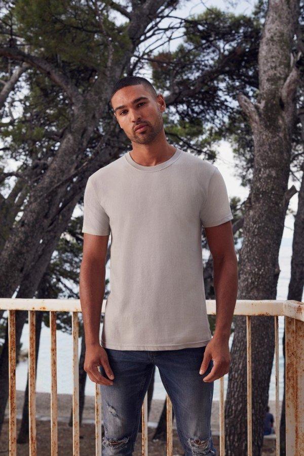 βαμβακερό μπλουζάκι Fruit of the Loom Ringspun Premium