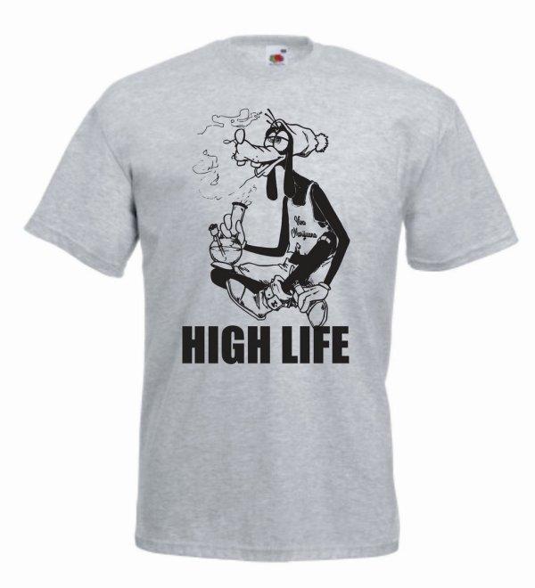 high life-goofy-bong-cannabis-χόρτο-μαύρο-τύπωμα-γκρι-valueweight-μπλουζάκι-blouzaki-φανέλα-τυπωμένο-fruit of the loom