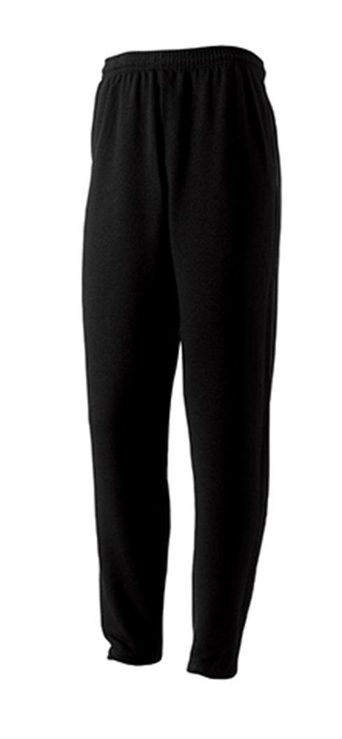 Φούτερ παντελόνι Russell σε ανδρική γραμμή και premium ποιότητα ΜΑΥΡΟ