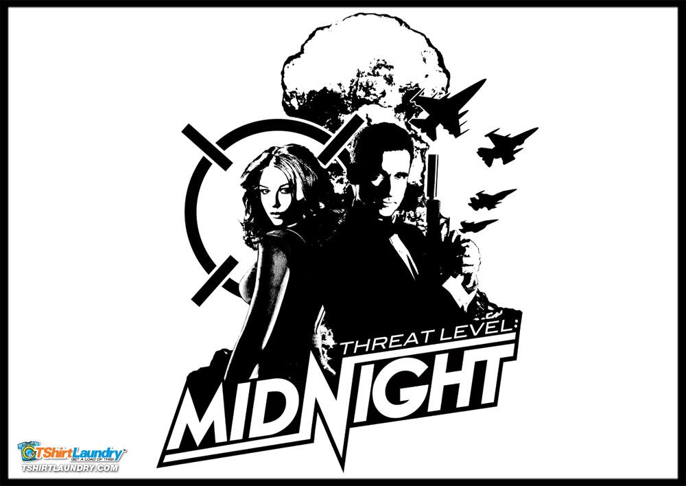 agent michael scarn in threat level midnight
